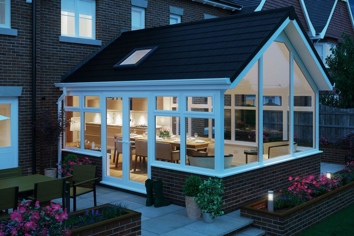 Gable End Conservatories Leighton Buzzard Upvc Conservatory
