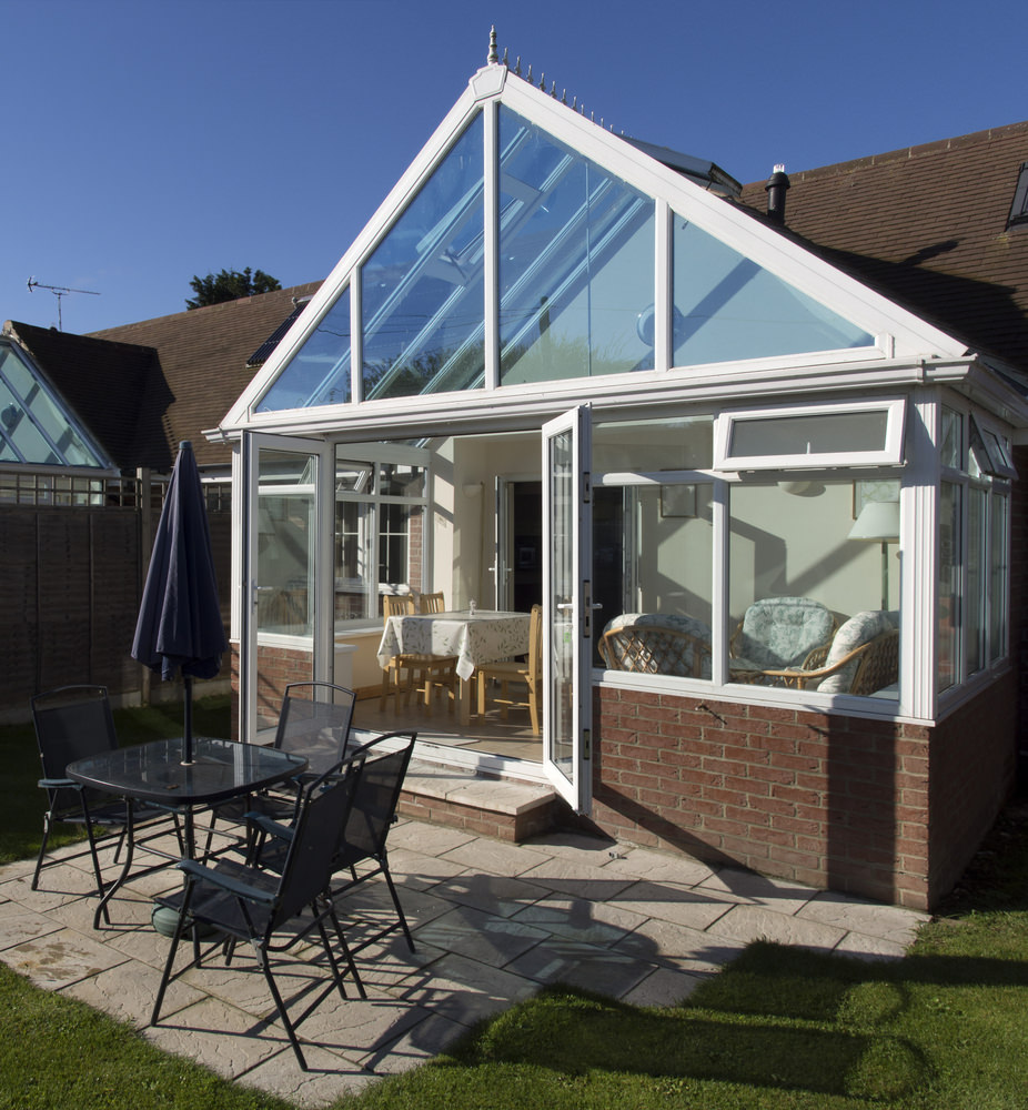 Gable-End conservatory Leighton Buzzard