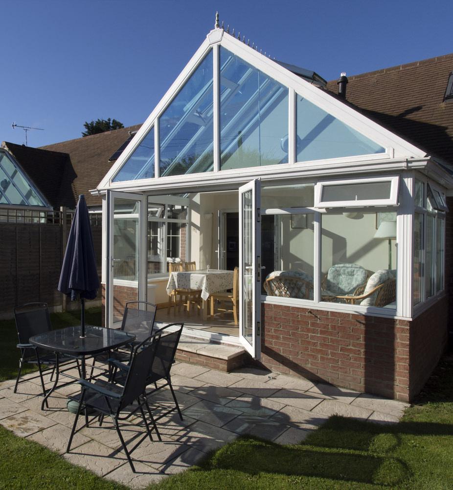 Gable-End conservatory Leighton Buzzard